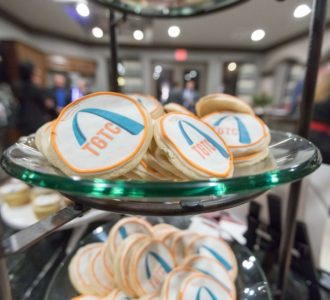 Cookies with Team Gateway for the Cure Logo