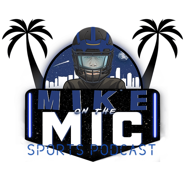 Mike on the Mic Sports Podcast Logo